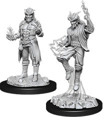 Dungeons & Dragons Nolzur`s Marvelous Unpainted Miniatures: W12 Male Tiefling Sorcerer