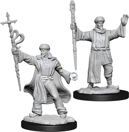 Dungeons & Dragons Nolzur`s Marvelous Unpainted Miniatures: W13 Human Wizard Male