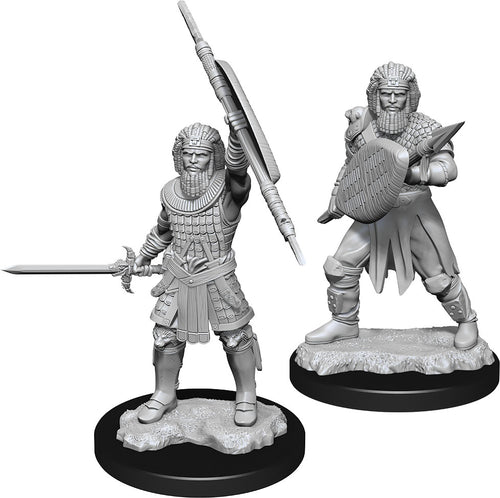 Dungeons & Dragons Nolzur`s Marvelous Unpainted Miniatures: W13 Human Fighter Male