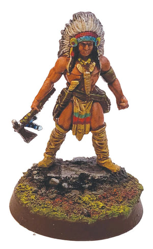 Mythic Americas: Tribal Nations - Sachem Warlord