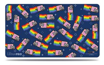 Nyan Cat Swarm Playmat