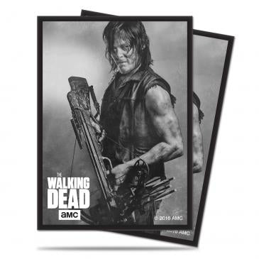 Ultra Pro Blue Deck Protector Sleeves The Walking Dead Daryl