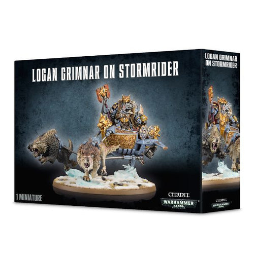 Logan Grimnar on Stormrider
