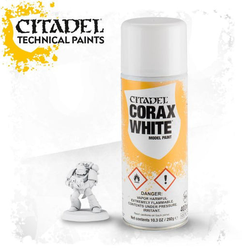 SPRAY Paint: Corax White