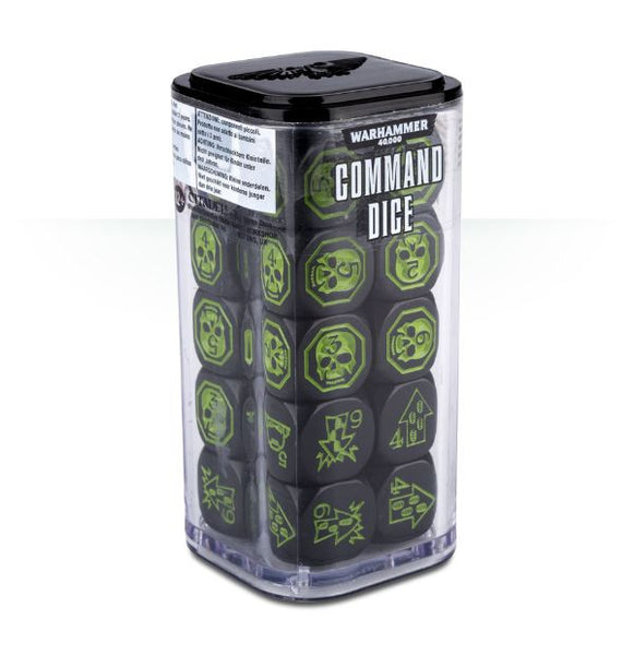 Warhammer 40,000 Command Dice