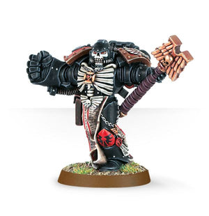 Space Marine Chaplain with Crozius & Power Fist