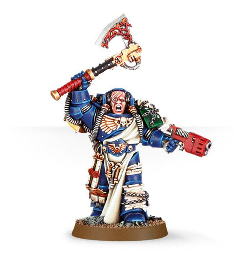 Space Marine Librarian with Force Axe & Plasma Pistol