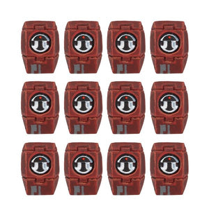 Farsight Enclave Fire Warrior Shoulder Pads