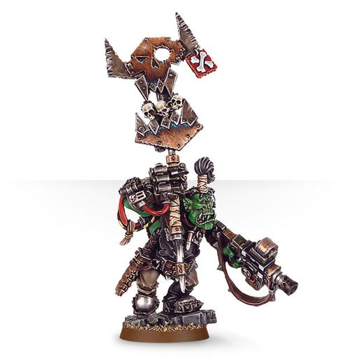Ork Nob with Waaagh! Banner