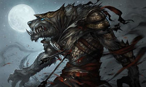gamermats - Werewolf Assassin