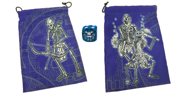 Skeletons Dice Bag