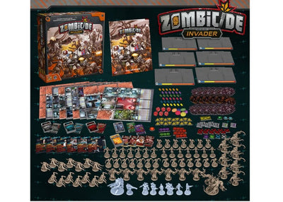 Zombicide - Invader (KS exclusives with first 6 pre-orders)
