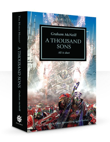 Horus Heresy Book 12: A Thousand Sons (paperback)