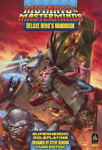 Mutants and Masterminds - Deluxe Hero's Handbook