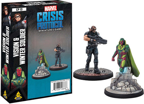 Marvel: Crisis Protocol - Vision & Winter Soldier Pack
