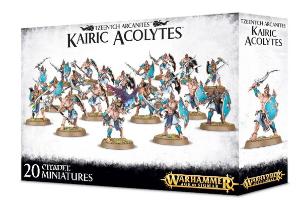 Disciples of Tzeentch - Kairic Alcolytes
