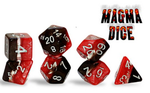 Supernova; Magma 7 dice set