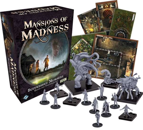 Mansions of Madness - Suppressed Memories: Figure and Tile Collection