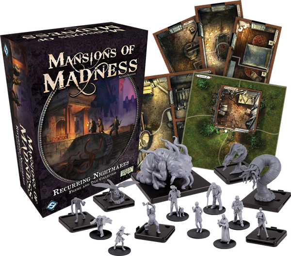 Mansions of Madness - Recurring Nightmares: Figure and Tile Collection