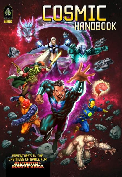 Mutants and Masterminds - Cosmic Handbook
