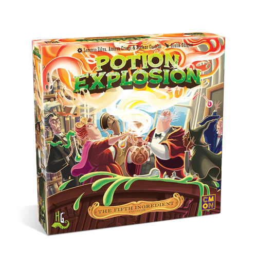 Potion Explosion : the 5th Ingredient