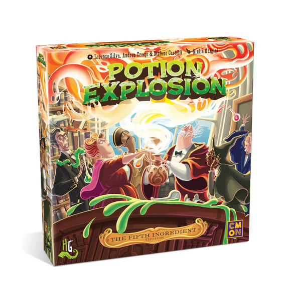 Potion Explosion : The 6th student