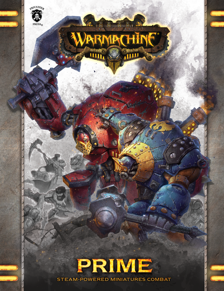Warmachine Prime Rulebook