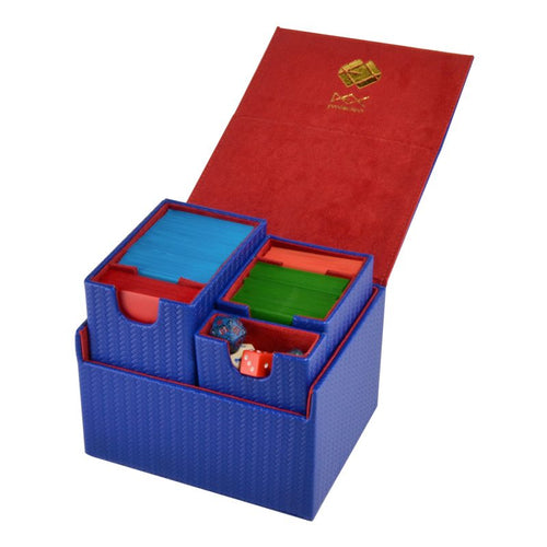 Dex Protection : Large Proline Deck Box - Blue