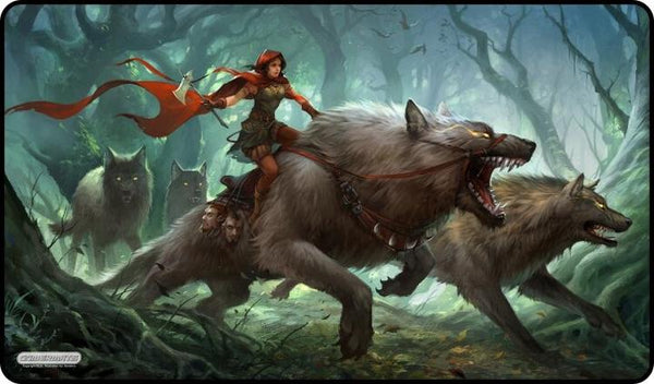 Gamermats - Dark Red Riding Hood