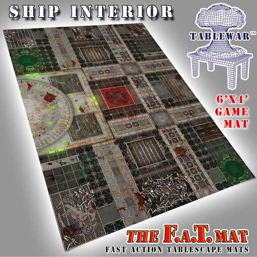 Ship Interior 4 x 6 FAT Mat