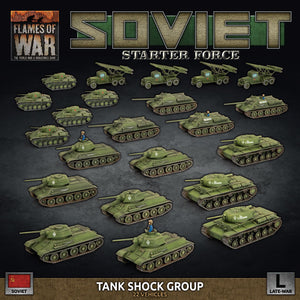 Flames of War : Soviet Starter Force Tank Shop Group