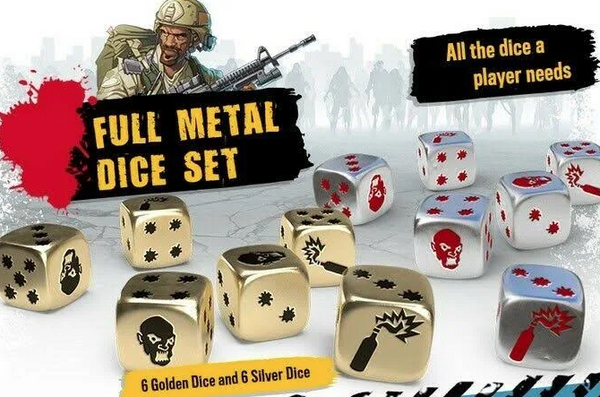Zombicide 2nd edition - Full Metal dice