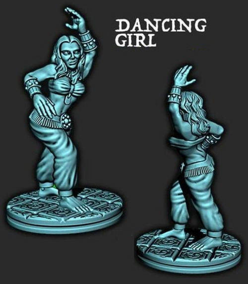 Empire of the Scorching Sands - Dancing Girl 1