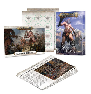 Warscroll Cards : Sons of Behemat