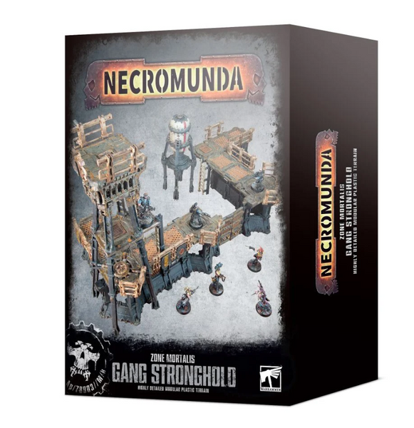 Necromunda Zone Mortalis : gang stronghold