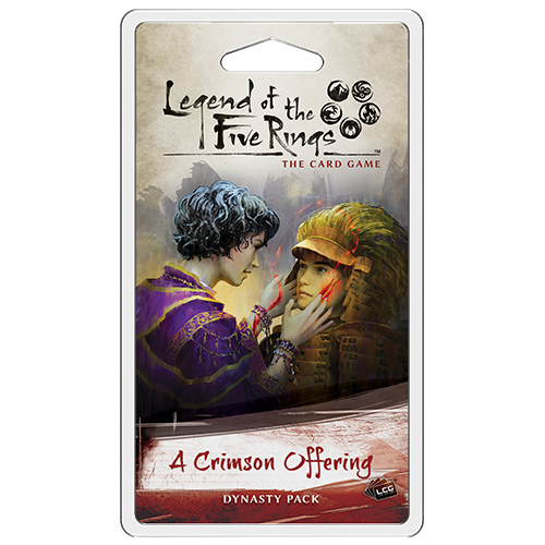 Legend of the Five Rings - LCG : A Crimson Offering