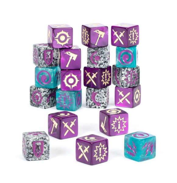 Warhammer Underworlds - Grand Alliance Death dice
