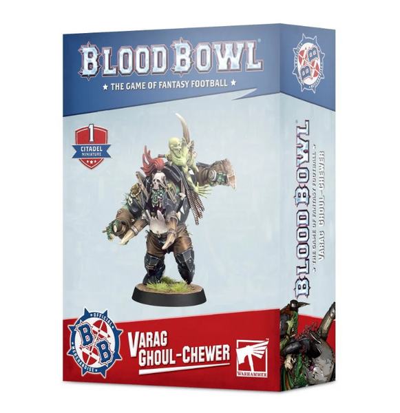 Blood Bowl Team: Varag Ghoul-chewer