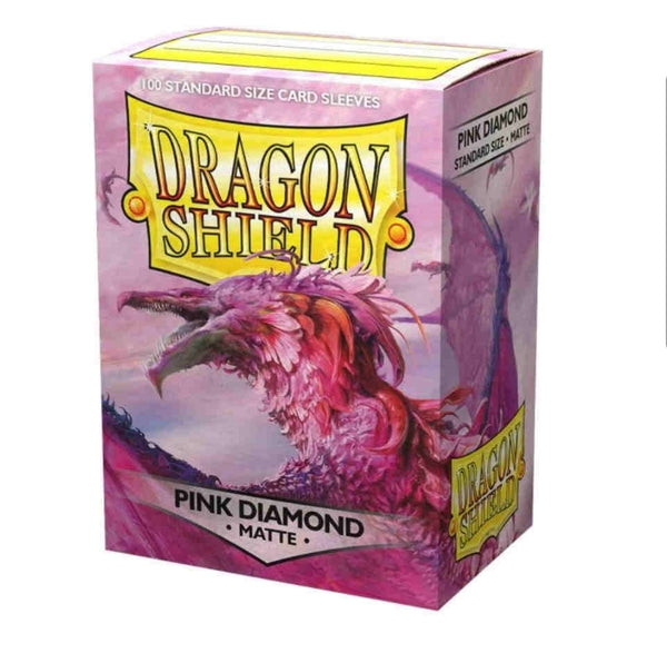 Dragon Shield Card Sleeves :  Pink Diamond (100)