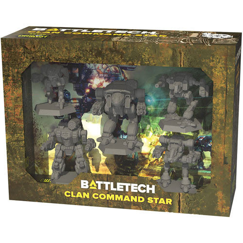Battletech - Clan command star