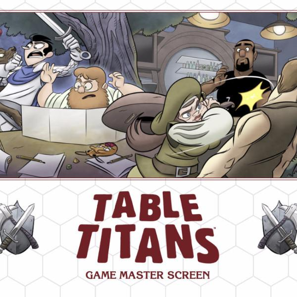 Table Titans - RPG Game Master's Screen