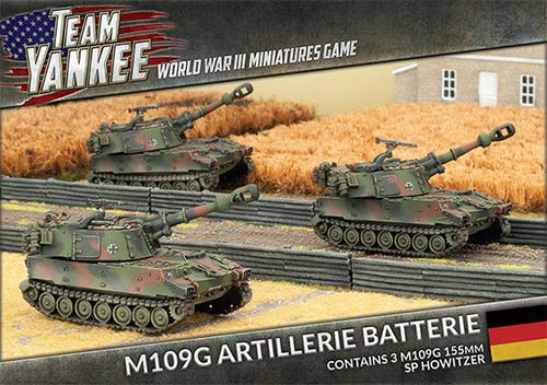 Team Yankee : West German M109G Field Battery