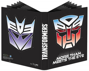 Ultra Pro Transformers: 9-Pocket Full-View PRO Binder