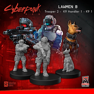 Cyberpunk RED - lawmen B