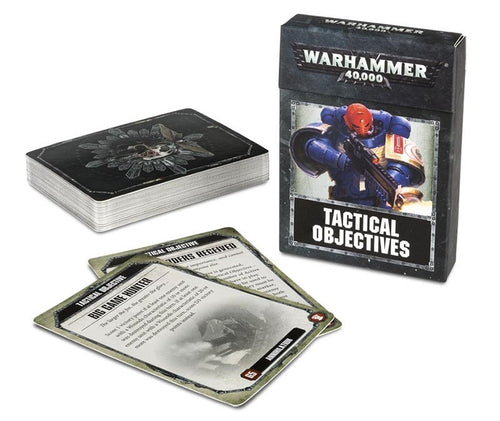 Tactical Objective Cards