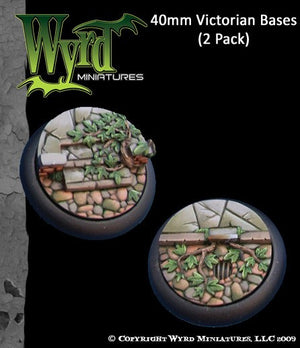 Malifaux : 40mm Victorian Bases (2)
