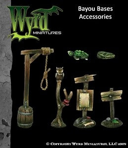 Malifaux : Bayou Base accessories