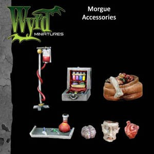 Malifaux : Morgue Base accessories