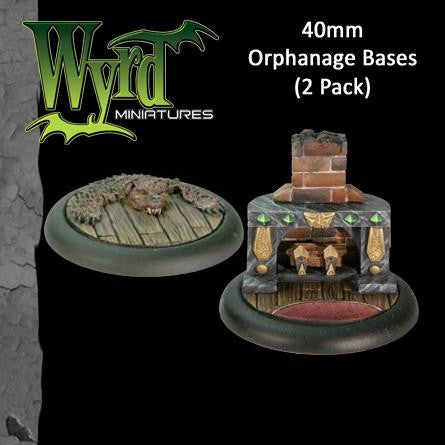 Malifaux : 40mm Orphanage Bases (2)