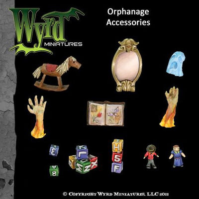 Malifaux : Orphanage Base accessories